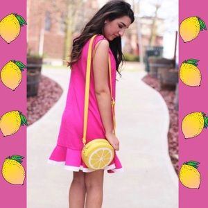 Handbags - LEMON SHOULDER YELLOW BAG